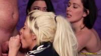 PureCFNM   Belle Ohara, Kelly Cummins And Sapphire Rose   Boob Slip