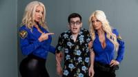 BrazzersExxtra   Brittany Andrews And Nicolette Shea   Fucking His Way Into The U S A